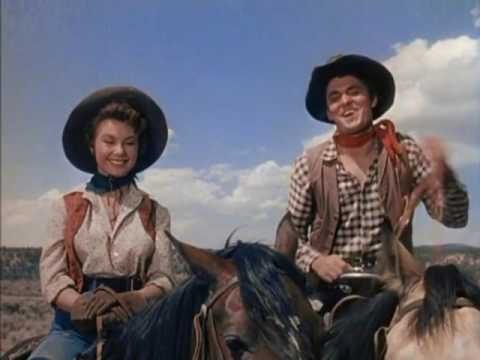 Three Young Texans (Western 1954) Jeffrey Hunter, Mitzi Gaynor, Keefe Brasselle