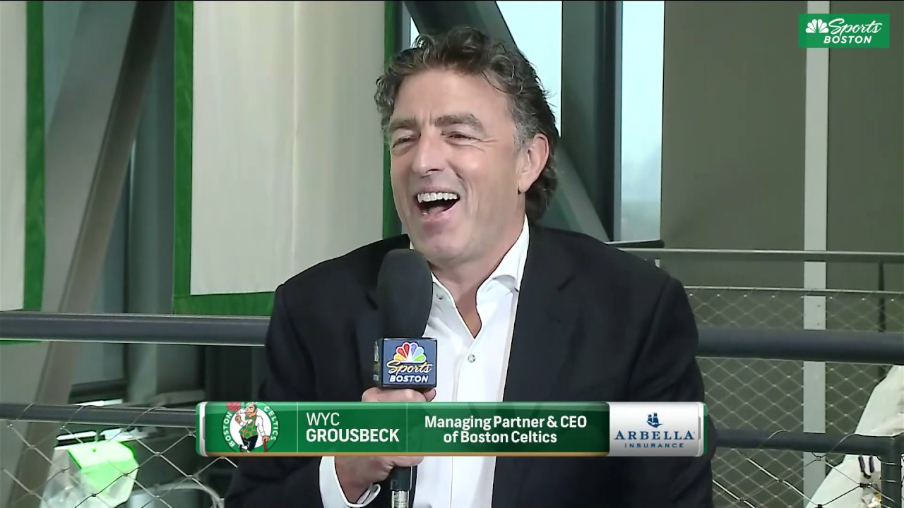 Download Exclusive interview with Wyc Grousbeck