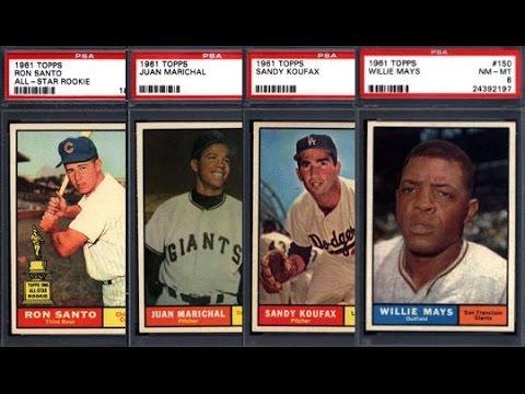 The 1961 Topps Baseball Graded Near Set