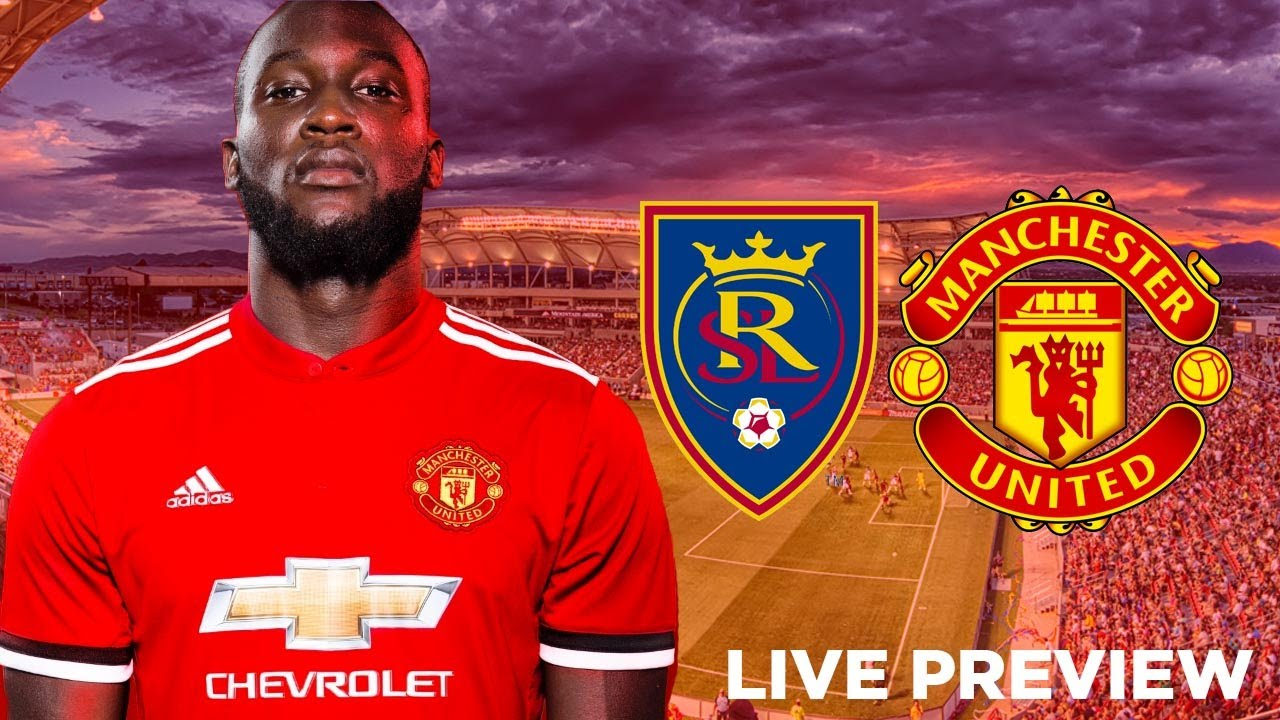 Image result for real salt lake vs manchester united