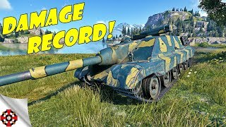 World of Tanks - AMX 50 Foch B DAMAGE RECORD! (WoT AMX 50 Foch B gameplay)