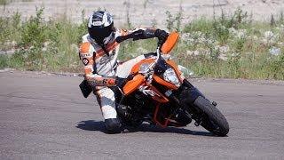 Тренинг: Экстремальное вождение мотоцикла.