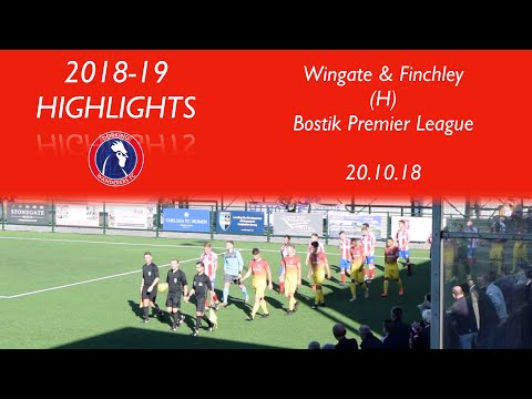 Dorking Wanderers 3-0 Wingate & Finchley | Bostik Premier League | 20.10.18
