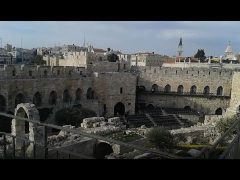 A Visit to the Tower of David Museum. Jerusalem, Israel