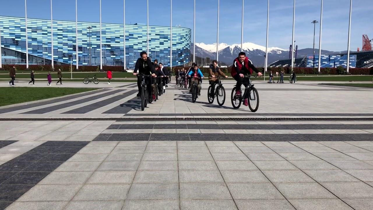 олимпийский парк сочи фото велорикши однолетка ценится