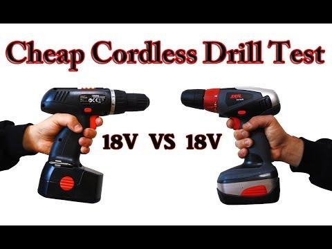 Budget/Cheap Cordless Drill (Skil 18V Vs Budget 18V)