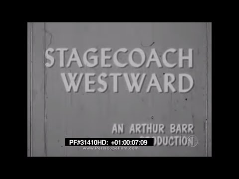 Stagecoach Westward - Fronteir Travel, Expansion, United States 31410 HD