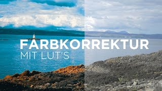 After Effects • Farbkorrektur mit LUT's • Film Look • Tutorial [GERMAN / DEUTSCH]
