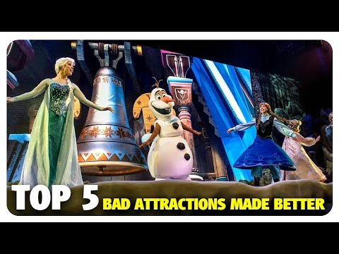 TOP 5 Bad Disney Attractions Made Better | Best and Worst | 02/21/18