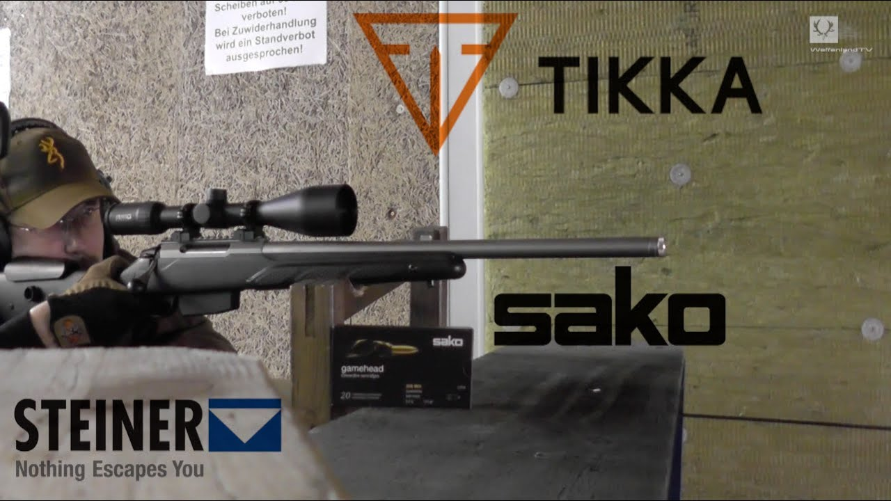 Shooting a Tikka T3 Super Varmint  308 Win Part 1