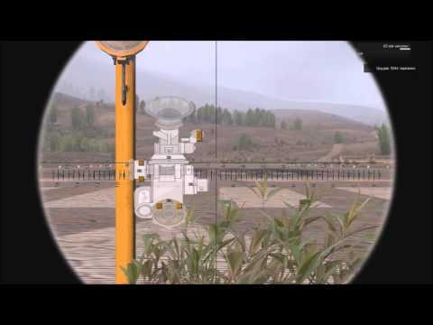 ARMA3 Тушино Обучение стрельбы миномётом 2Б14.Стрельба с помощью угломера.