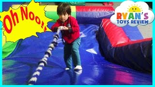 indoor playground family fun play center for kids giant inflatable slides children play area