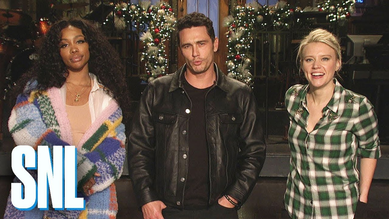 James Franco hosts 'SNL' with musical guest SZA