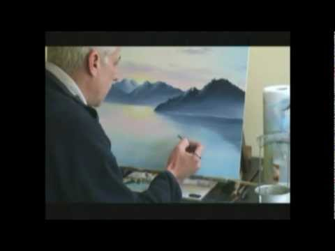 Live Online Art Classes Webinar - Oil Painting Sunset Pt2