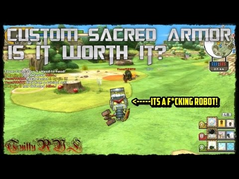 Happy Wars, Custom Sacred Armor! Is It Worth It?