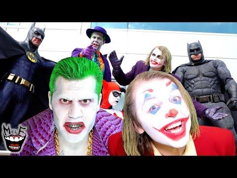 Joker Metal - Put On A Happy Face!! (Official Music Video) | Ft. Harley Quinn & Batman!!
