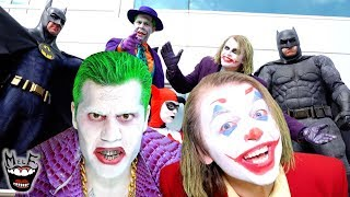Joker Metal - Put On A Happy Face!! (Official Music Video) | Ft. Harley Quinn & Batman!!