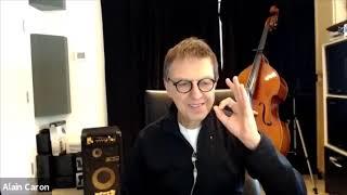 Alain Caron partage ses souvenirs d'UZEB et du jazz en général. (English subtitles)