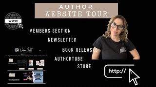 My New Author Website Tour!