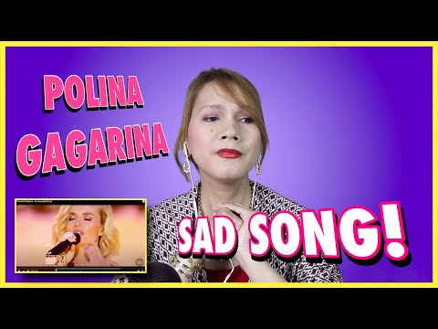 POLINA GAGARINA ( Полина Гагарина ) - Ты не целуй - REACTION