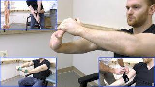 Golfers Elbow Treatment Exercises - Self Treatment for Medial Epicondylitis