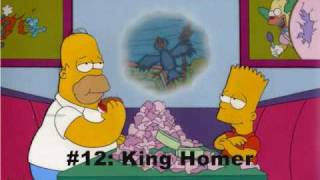 Top 25 Simpsons Episodes