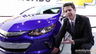 2016 Chevy VOLT Walkaround Overview @ Detroit Auto Show 2015