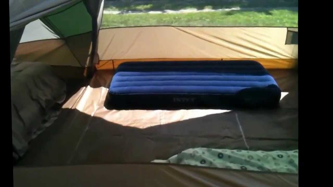 1075e84e80e Field and Stream Oakwood 10 tent review - YouTube