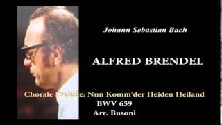 BRENDEL, J.S.Bach Nun Komm