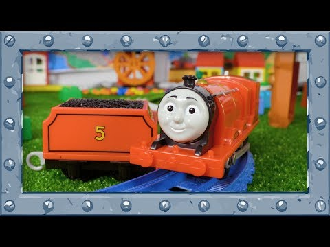Thumbnail: James No. 5 Engine ♦ Lost Tender Story ♦ Accidents will Happen with Thomas and Friends