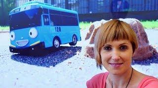 Автобус ТАЙО ищет букву К 📷 Азбука с Машей #КапукиКануки 👈 Учим буквы Развивающее видео ДЛЯ ДЕТЕЙ