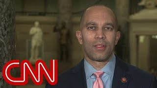 Rep. Jeffries defends 'grand wizard' Trump comments