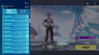 NFL Skins l PLAYING WITH SUBS I ALIA TFUE l FORTNITE BATTLE ROYALE