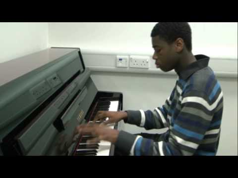 Usher - Foolin Around Piano Cover