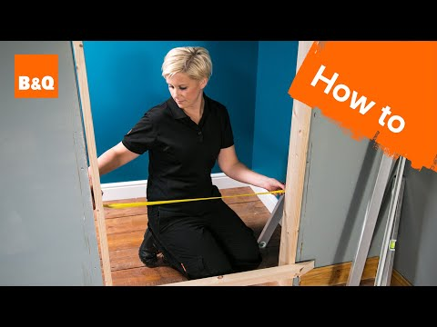 How To Fit An Internal Door Frame Part 1: Removing The Old Door Frame