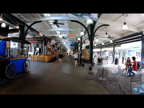 ⁴ᴷ⁶⁰ Walking New Orleans : French Market To Harrah's Casino, French Quarter Via Decatur Street