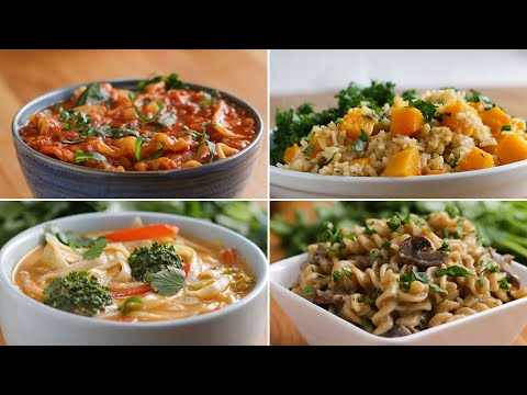 One-Pot Vegan Dinners