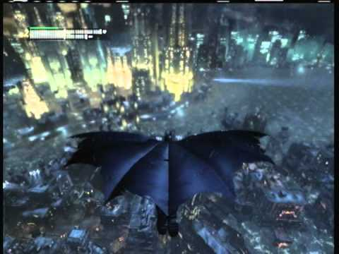 "Batman: Arkham City ""Gotham Base Jumper"" Achievement/Trophy 5G"