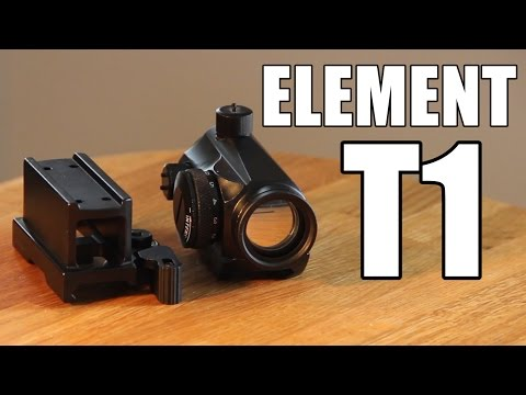 AIRSOFT | REVIEW | TBC | Element T1 1X24 Red/Green Dot Scope Sight ( ENGLISH SUBS )