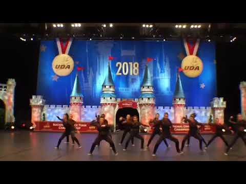 Chartiers Valley High School UDA 2018 nationals