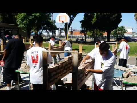 2014 Brick x Brick Contest Jane Frederick High School Stockton - MITA