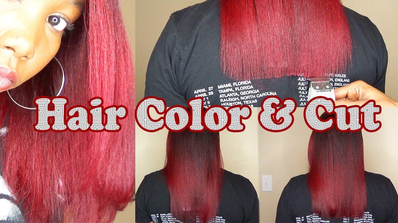 Hair Color Cut