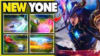 Riot finally gave Yone the skin he deserves (Dawnbringer Yone Gameplay)