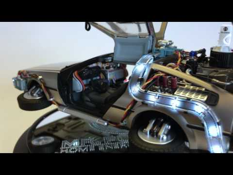 "Magnetic Hovering ""Back To The Future Part II"" DeLorean Time Machine"