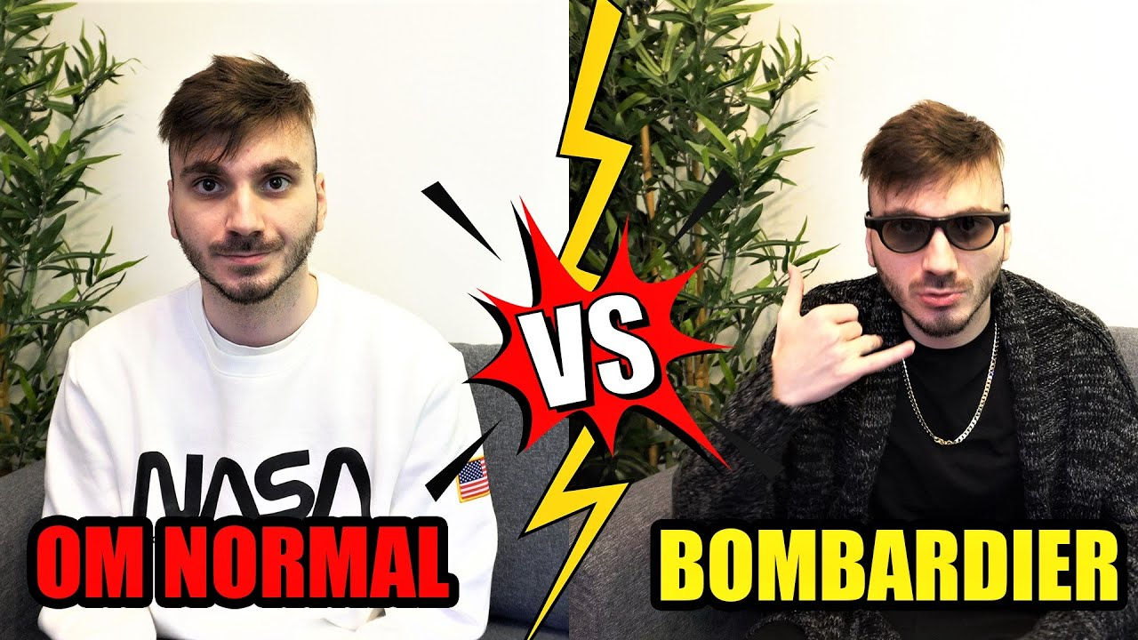 2020 Pentru un BOMBARDIER vs OM NORMAL