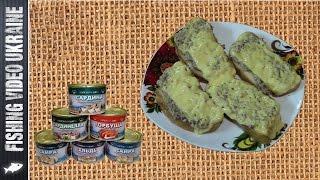 Горячие бутерброды с рыбной консервы. Быстро и вкусно! HD
