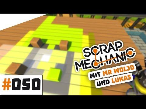 Fliegende Platform! | Let's Play Scrap Mechanic mit Mr. Woljo S[01]E[050] | German