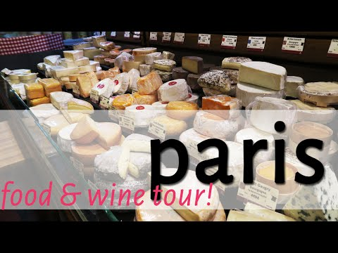 Paris vlog // Wine & Cheese Food Tour & the Louvre at Sunset!