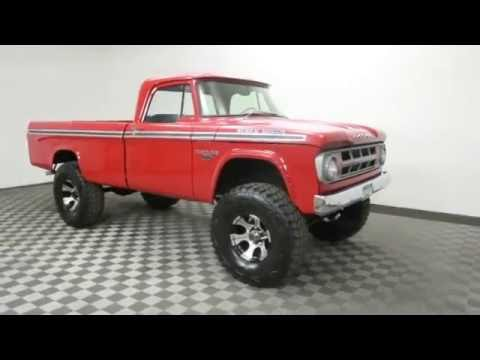 1968 Dodge Power Wagon For Sale Youtube