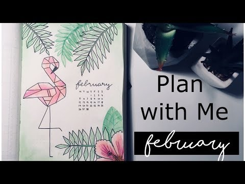 Download Youtube: FEBRUARY 2018 Bullet Journal Setup & January FLIPTHROUGH // PLAN WITH ME